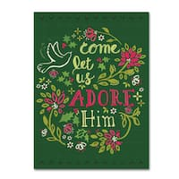 Yachal Design 'Adore Him' Canvas Art