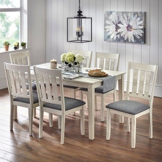 Simple Living Olin Dining Sets (2 options available)  sc 1 st  Overstock.com & Farmhouse Kitchen \u0026 Dining Room Tables For Less | Overstock