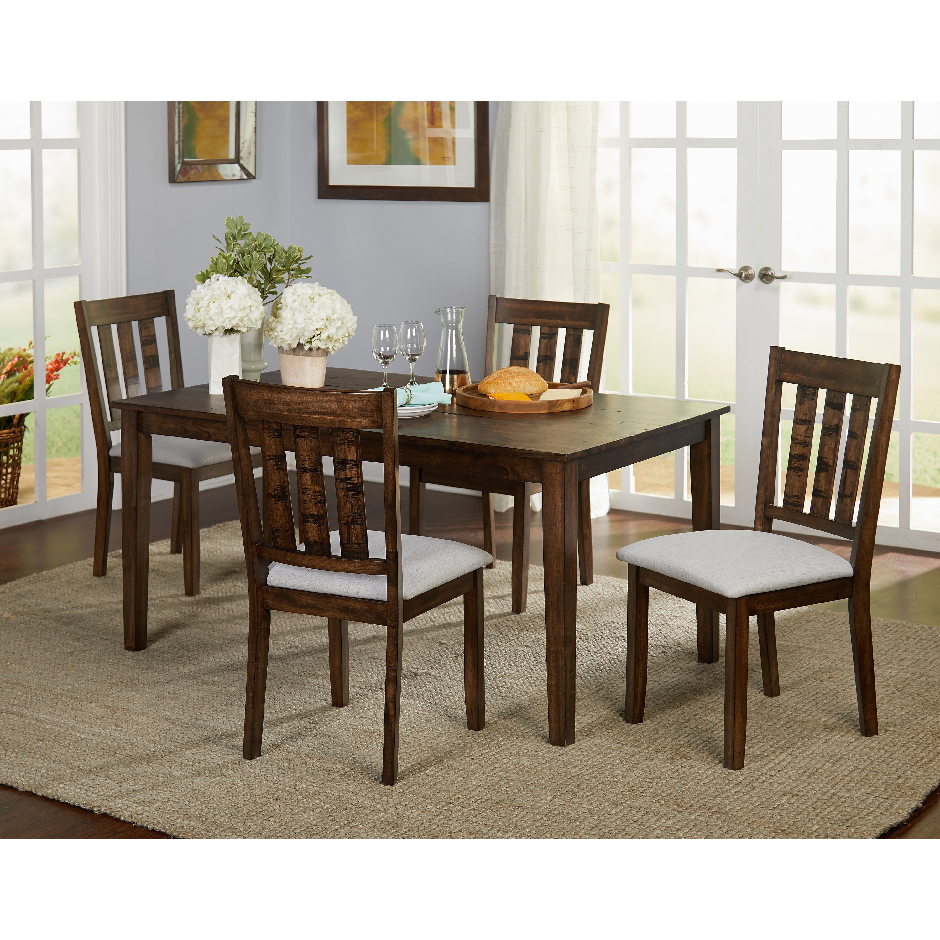 Simple Living Olin Dining Sets (2 Options Available)