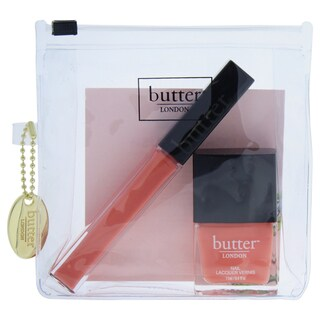 Butter London Coral Crush Lip & Tips Collection