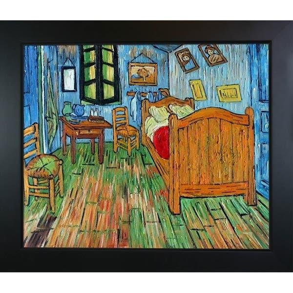 Shop Vincent Van Gogh Bedroom At Arles Hand Painted Oil Reproduction Overstock 16601690,Kitchen Garden Window Shelf