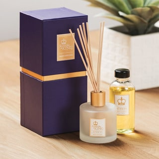 Sleep like a King Luxury Home Scents Luxury Reed Diffuser and Oil Set