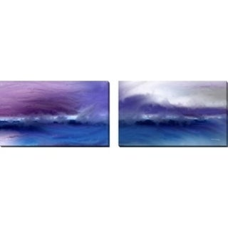 "Mark Lawrence ""A Change Is Gonna Come"" Oversized Wall Art Sets of 2"