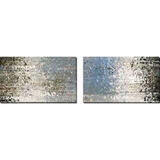 """Mark Lawrence """"My Shepherd Seeks Me Ezekiel 34:12"""" Oversized Wall Art Sets of 2"""