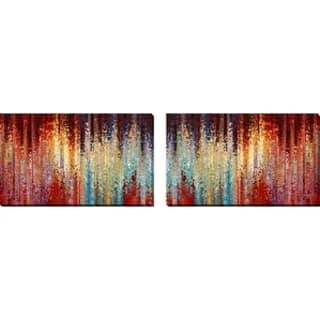 """Mark Lawrence """"The Undeviating Question. John 21:17"""" Oversized Wall Art Sets of 2"""
