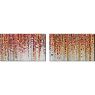 "Mark Lawrence ""God Will Forgive You. Luke 23:34"" Oversized Wall Art Sets of 2"