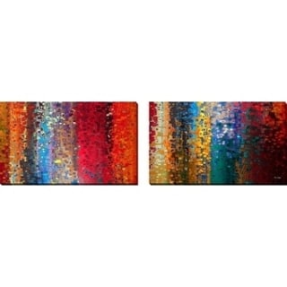 Mark Lawrence 'Worship, Genesis 12:8' Oversized Wall Art Sets of 2