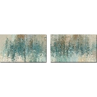 "Mark Lawrence ""Perfect Love. Romans 8:38"" Oversized Wall Art Sets of 2"