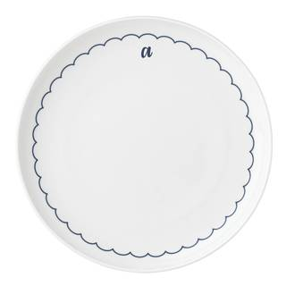 Lenox I.D Navy Scallop Dinner Plate