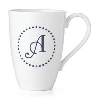Lenox I.D. Navy Dots Mug