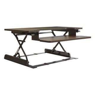 16.75-inch Height Adjustable Multi-position Espresso Desk Riser https://ak1.ostkcdn.com/images/products/16602657/P22930689.jpg?impolicy=medium