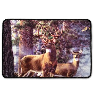 Laural Home Majestic Deer Bath Mat