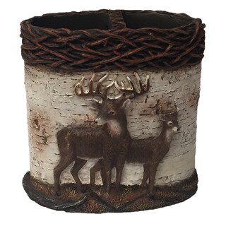 Laural Home Majestic Deer Toothbrush Holder