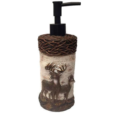 Laural Home Majestic Deer Soap/Lotion Pump