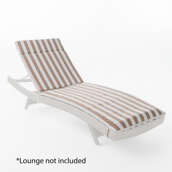 M Outdoor Chaise Lounge Cushion By Christopher