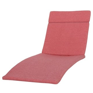 Salem Outdoor Chaise Lounge Cushion by Christopher Knight Home
