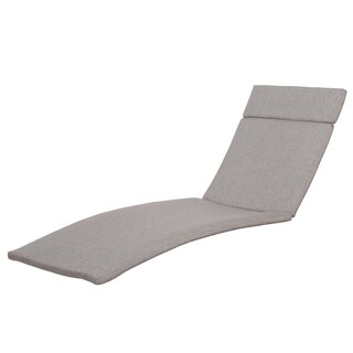 Sienna Outdoor Colored Water Resistant Chaise Lounge Cushion (ONLY) by Christopher Knight Home (More options available)