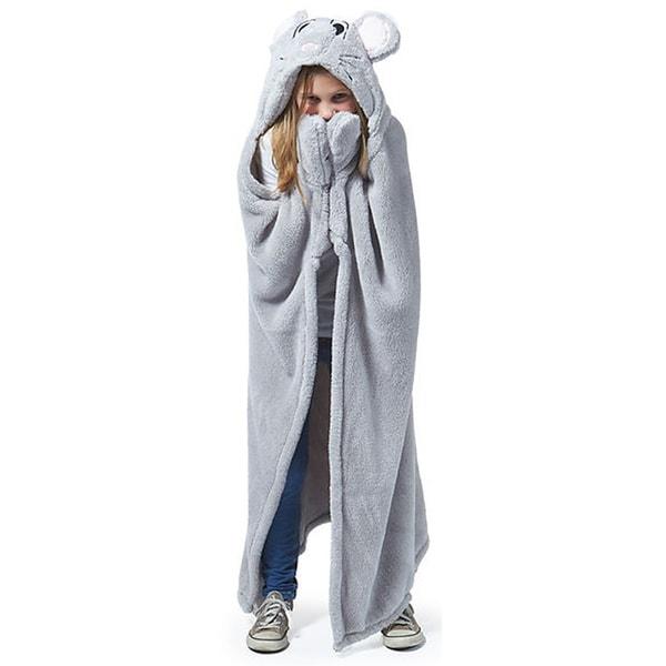 Berkshire Blanket Cuddly Buddies Mouse Throw