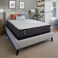 Sealy Response Performance 12.5-inch Cushion Firm Queen-size Mattress Set