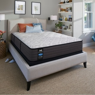 Sealy Response Performance 12.5-inch Cushion Firm Twin-size-size Mattress Set