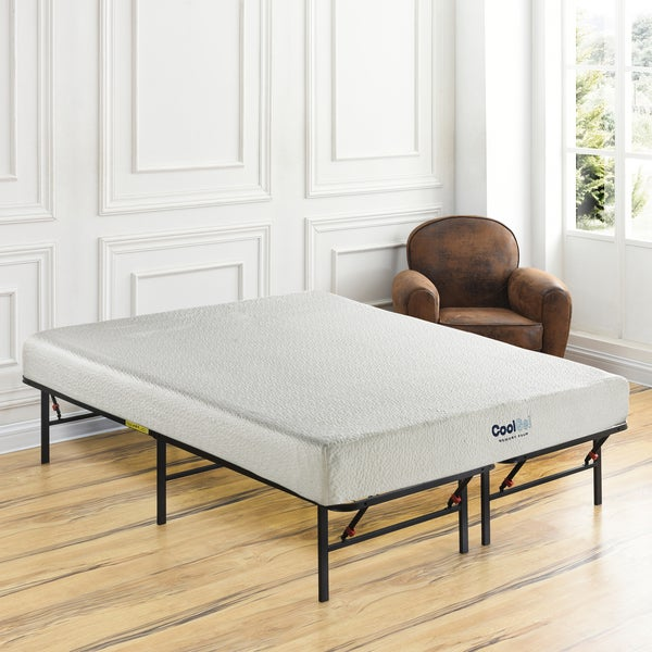 shop postureloft primrose 8 inch twin xl size cool gel ventilated gel memory foam mattress and. Black Bedroom Furniture Sets. Home Design Ideas