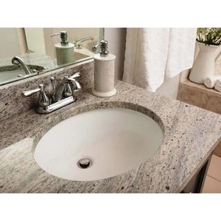 Link to 19-3/8-inch European Style Oval Shape Porcelain Ceramic Bathroom Undermount Sink Similar Items in Sinks
