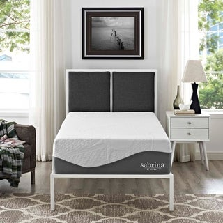 Modway Sabrina 12-inch Twin-size Gel Memory Foam and Latex Hybrid Mattress