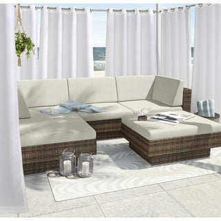 Forever White Indoor/Outdoor Curtain Panel