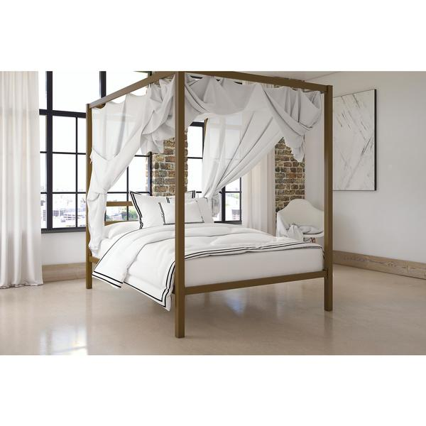 DHP Modern Gold Canopy Bed   Free Shipping Today   Overstock com   22932043. DHP Modern Gold Canopy Bed   Free Shipping Today   Overstock com