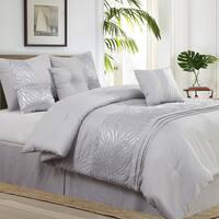 Avanti Grey Full/Queen 7 Piece Comforter Set