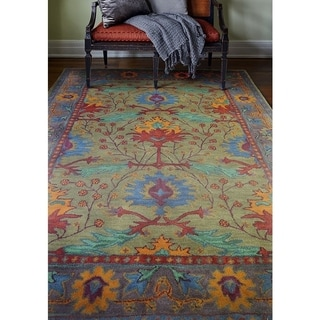 Somers Wool Tufted Area Rug (3'9 x 5'9) - 3'9 x 5'9