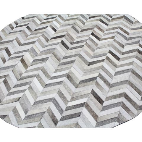 Caleb Contemporary Hand Stitched Area Rug