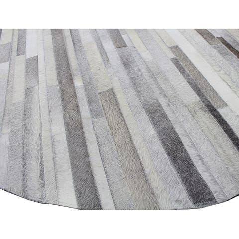 Hunter Contemporary Hand Stitched Area Rug