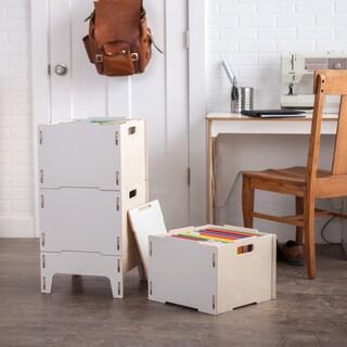 Modern Wooden File Cabinet