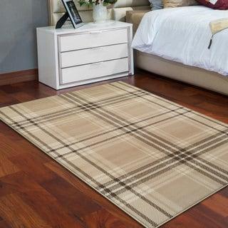 Superior Designer Tartan Area Rug Collection (5' X 8')