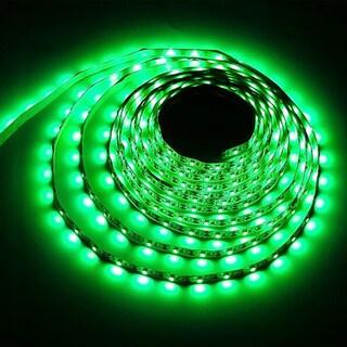 USB LED Strip Light DC5V Night Light String Lamp 3528 SMD for TV/ PC/ Laptop 1M (Option: Green)