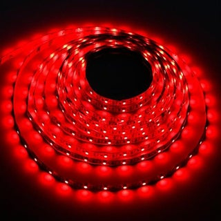 USB LED Strip Light DC5V Night Light String Lamp 3528 SMD for TV/ PC/ Laptop 1M (Option: Red)