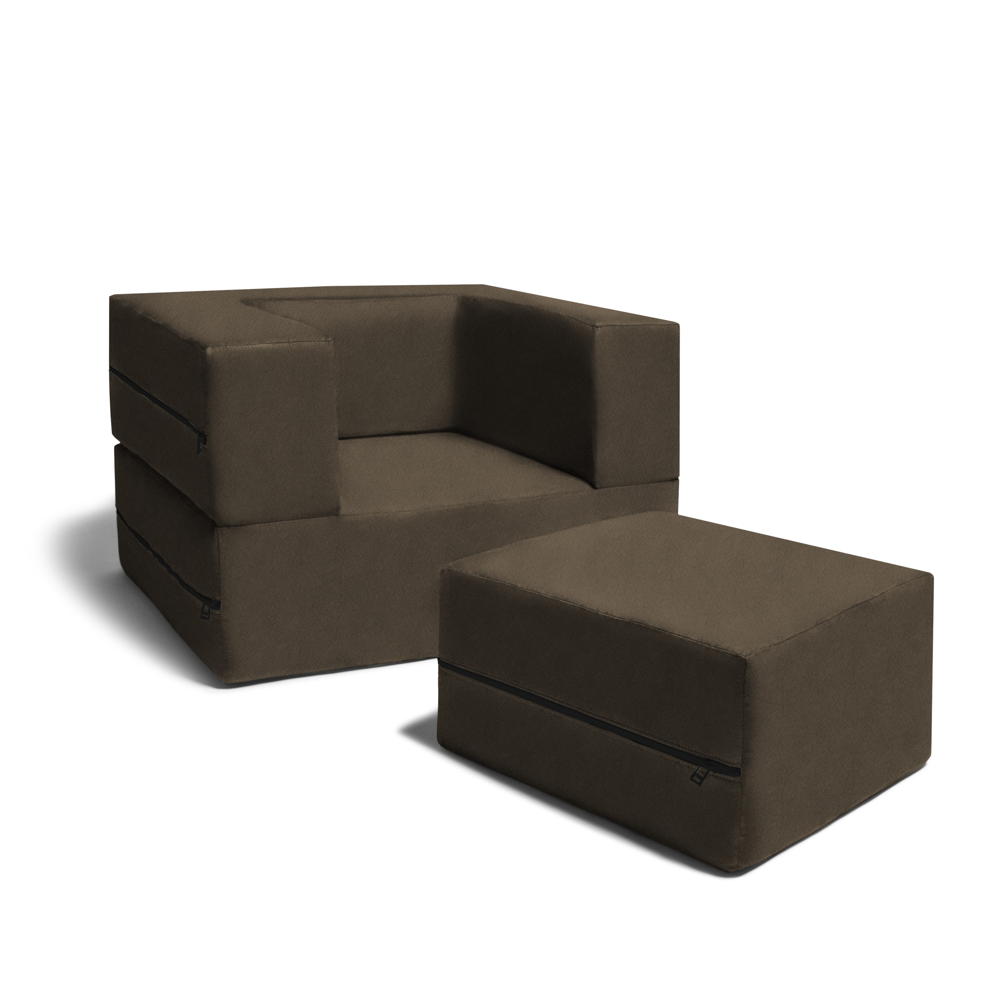 Remarkable Jaxx Big Kids Convertible Sleeper Chair Ottoman Creativecarmelina Interior Chair Design Creativecarmelinacom