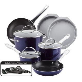 Farberware(r) Luminescence(tm) Aluminum Nonstick 16-Piece Cookware Set