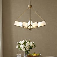 Madison Park Signature Lumi White Pendant
