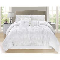 Paris Collection 7 Piece Full Comforter Set