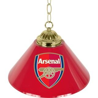 Premier League 14 Inch Single Shade Bar Lamp - Arsenal