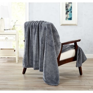 Home Fashion Designs Astor Collection Ultra Velvet Plush Oversized Throw