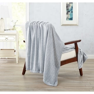 Home Fashion Designs Landon Courte Collection Ultra Velvet Plush Oversized Throw