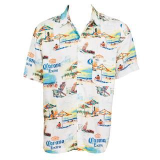 Corona Extra Beach Lounge Hawaiian Shirt