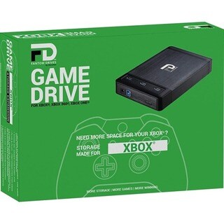 Fantom Drives Xbox 2TB External Hard Drive - 7200RPM - with 3 Ports B