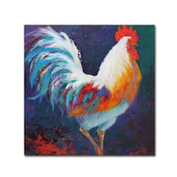 Marion Rose 'Rooster' Canvas Art