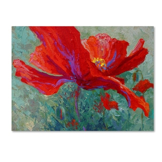 Marion Rose 'Red Poppy 1' Canvas Art