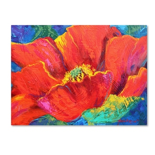 Marion Rose 'Passion Poppy' Canvas Art