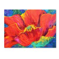 Marion Rose 'Passion Poppy' Canvas Art